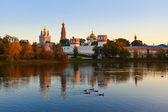 Rusya'nın moskova novodevichiy manastırı — Stok fotoğraf