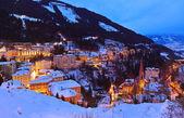 Montañas de ski resort bad gastein austria — Foto de Stock