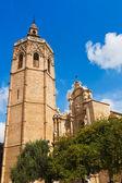Basilica Cathedral - Valencia Spain — Stock Photo