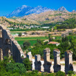 Aqueduct at Aspendos in Antalya, Turkey — Stock Photo