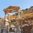 Ancient ruins in Ephesus Turkey — Stok fotoğraf