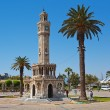 Historical Clock Tower of IzmirTurkey — Stock Photo