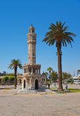 Historical Clock Tower of IzmirTurkey — Stock Photo