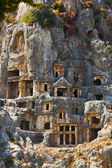 Ancient town in Myra, Turkey — Stock Photo