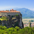 meteora monastery in greece — Stock Photo #21166467