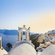 Santorini sunset (Oia) - Greece — Stock Photo #21166469