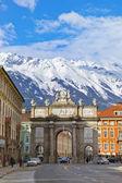 Triumph Arch - Innsbruck Austria — Stock Photo