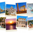 Stack of Turkey travel images - Stock Photo