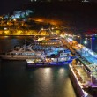Night view of Kusadasi Turkey — Stock Photo #21394193