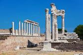 Temple of Trajan at Acropolis of Pergamon in Turkey — Stock Photo