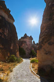 Rock formations in Cappadocia Turkey — Stock Photo