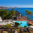 Pool at Tenerife island - Canary — Stock Photo
