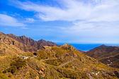 горы в тенерифе - канарские — Стоковое фото