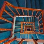 Spiral staircase — Stock Photo