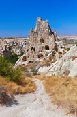 Cave city in Cappadocia Turkey — Stock Photo