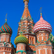 Royalty-Free Stock Photo: Saint Basil Cathedral on Red square, Moscow