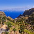 Stock Photo: Road in La Gomera island - Canary