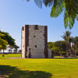 Tower Torre del conde in San Sebastian - La Gomera Island - Cana - Stock Photo