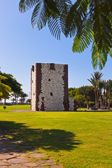 Tower Torre del conde in San Sebastian - La Gomera Island - Cana — Stock Photo