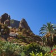 Hermigua valley in La Gomera island - Canary — Stock Photo