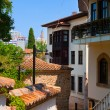 Old street in Antalya, Turkey — Stock Photo