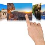 main Turquie défilement images de voyage — Photo