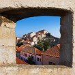 Town Dubrovnik in Croatia — Stock Photo