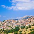 Stock Photo: Resort of Arachova on mountain Parnassos, Greece
