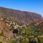 Road in La Gomera island - Canary — Stock Photo
