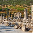 Ancient ruins in Ephesus Turkey — Foto de Stock