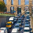 Car traffic at Istanbul Turkey — Stock Photo #23668669
