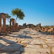 Stock Photo: Old ruins at Pamukkale Turkey