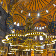 Hagia Sophia interior at Istanbul Turkey — Stock Photo #23668705