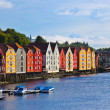 Cityscape of Trondheim, Norway — Stock Photo #23774527