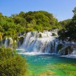 Waterfall KRKA in Croatia — Stock Photo #23848887