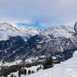 Mountains ski resort Solden Austria — Stock Photo #30708317
