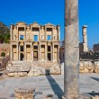 Ancient Celsius Library in Ephesus Turkey — Stok fotoğraf