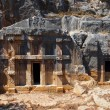 Ancient town in Myra, Turkey — Stock Photo