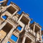 Ancient Celsius Library in Ephesus Turkey — Stock Photo