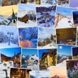 Stack of mountains ski Austria images (my photos) — Stock fotografie
