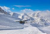 Mountain ski resort Hochgurgl Austria — Foto de Stock