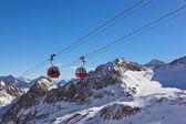 Mountains ski resort - Innsbruck Austria — Zdjęcie stockowe