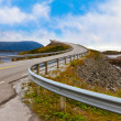 Famous bridge on the Atlantic road in Norway — Stock Photo