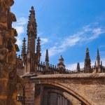Cathedral La Giralda at Sevilla Spain — Stock Photo