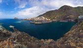 Panorama of Garachico in Tenerife island - Canary — Stock Photo