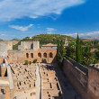 Alhambra palace at Granada Spain — Stock Photo #31606069