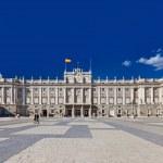 Královský palác v Madridu, Španělsko — Stock fotografie