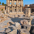 Ancient Celsius Library in Ephesus Turkey — Foto Stock