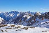 Hor. Skiareál - Rakousko innsbruck — Stock fotografie