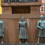 Sailors monument - Bergen Norway — Stock Photo